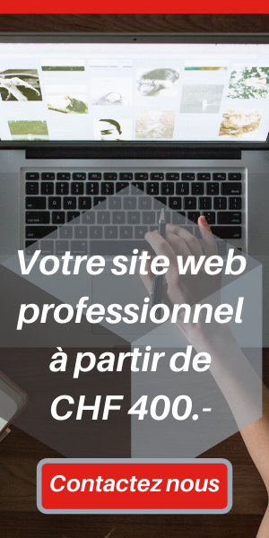 Marketing digital Genève. Site web professionnel