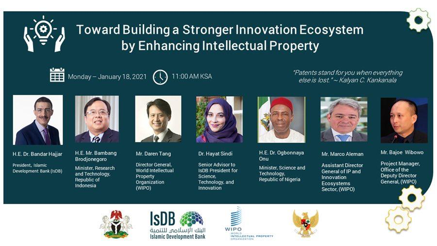 WIPO Match by Mr. Bajoe Wibowo at virtual seminar co-hosted with the Islamic Development Bank
