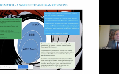 CIPAM & KSCST India Webinar on WIPO Match, Mr. Bajoe Wibowo & Dr. Sarasija Padmanabhan