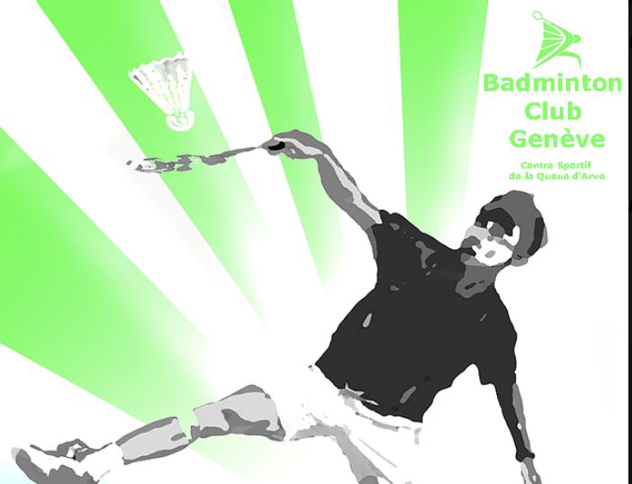 Bajoe Wibowo et Isabelle Dentand Badminton Club Genève