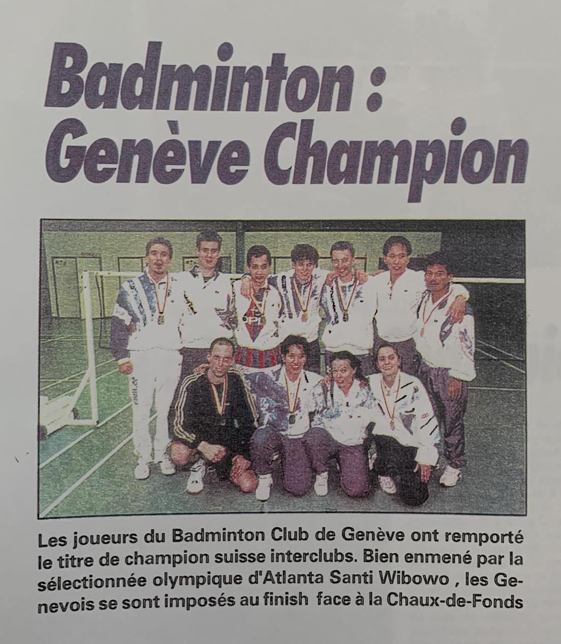Genève Champion Santi Wibowo